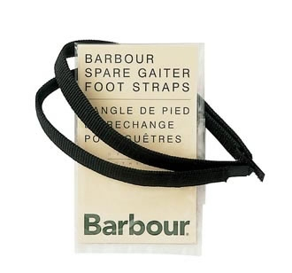 barbour replacement gaiter straps