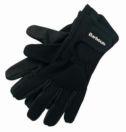 Barbour Neoprene Amari Palm Gloves MGL0001MI11 WAS F977 in black