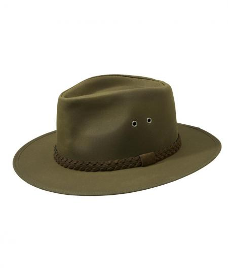 Barber Wax : Barbour Wax Bushman Hat olive green