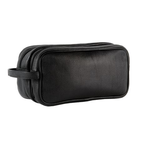 Global Traveller Leather Toilet Bag 630511