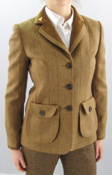 Cheap Online Clothing Stores 187 Womens Brown Tweed Jacket