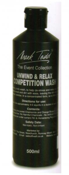 Unwind and Relax Competition Wash 500ml
