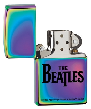 zippo beatles spectrum cigarette lighter