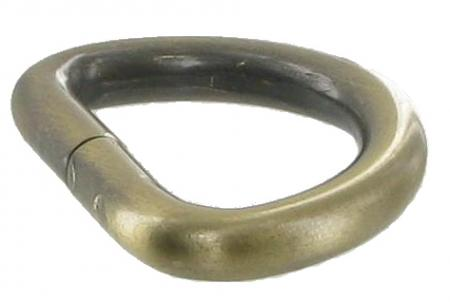 Antique Brass Split ring 25mm C0526