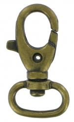 Antique Brass Trigger Hook OHP1276 antb