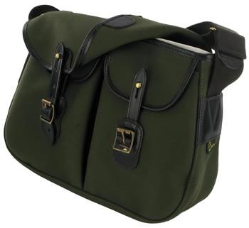 Ariel Trout Small Fishing Bag by Brady in Olive
