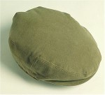 Barbour moleskin flat cap in Lovat