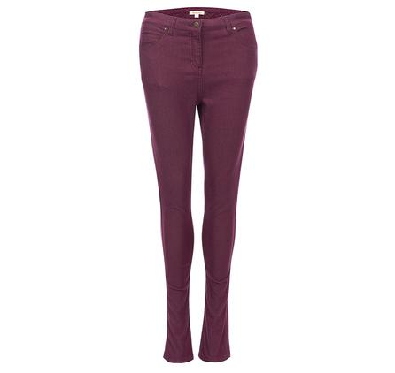 Barbour Badminton Trousers in bordeaux for ladies LTR0154RE96