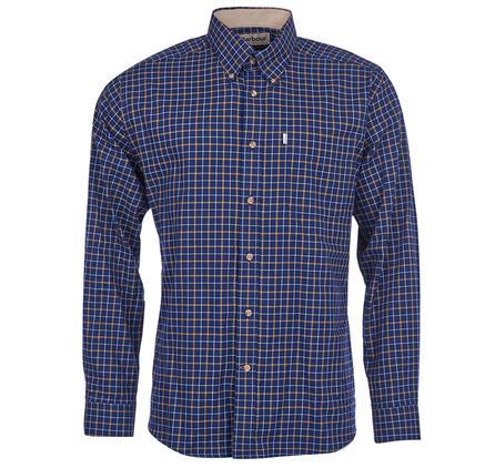 Barbour Bank Checked Shirt in Navy Blue MSH2125NY51