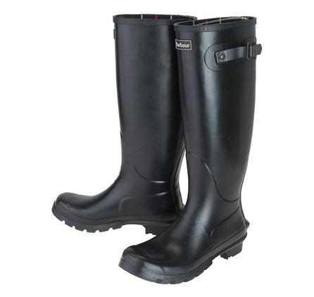 Barbour Bede Wellington Boot in black