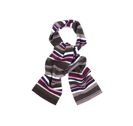 Barbour Briggs Stripe Scarf for ladies in olive