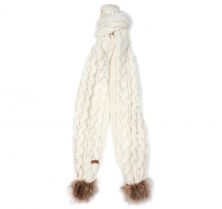 Barbour Cable Pom Scarf LSC0253