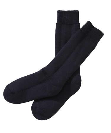 Barbour Calf Length Wellington Sock in Navy