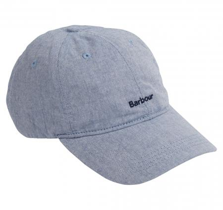 Barbour Cascade Sports Cap In Chambray MHA0525