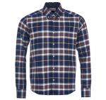 Barbour Castlebay Checked Shirt Navy