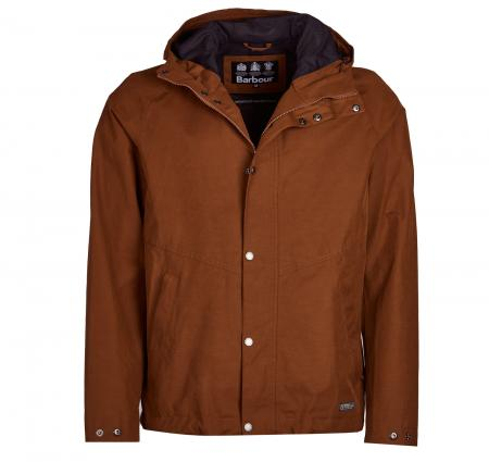 Barbour Charlie Jacket in Rust Brown MWB0699BR51
