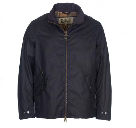 Barbour Claxton Jacket in navy MWX1323NY92