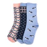 Barbour Collie Fairisle Sock Selection LAC0162MI11