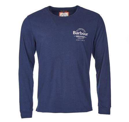 Barbour Compass Tee Navy MTS0118NY91S