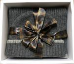 Barbour Cromer Beanie and Scarf Gift Set for men MAC0337