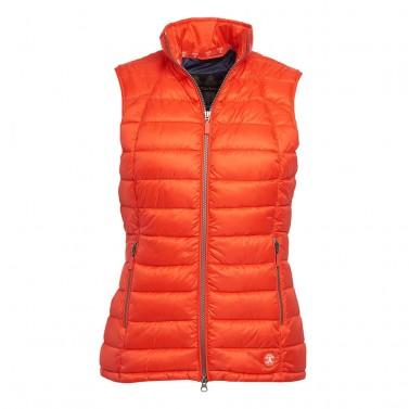 Barbour Deerness Gilet for ladies clover and navy LGI0002