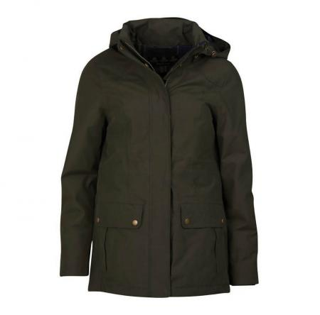 Barbour Dryburgh Jacket in olive green LWB0563