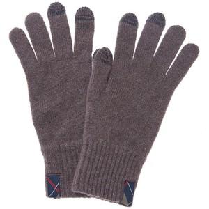 Barbour Dunbar Knitted Phone Friendly Gloves for Ladies in mocha