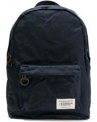 Barbour Eadan Backpack in Ink Blue UBA0463