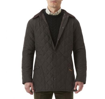 Barbour Eskdale Quilted Jacket Dark Brown