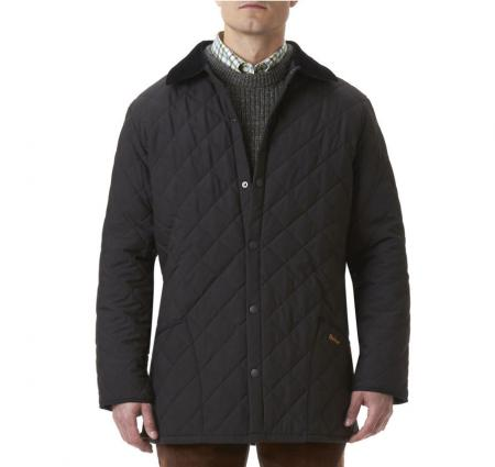 Save Barbour Eskdale Quilted Jacket in black