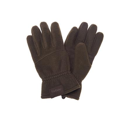 Barbour Fleece Country Glove in olive