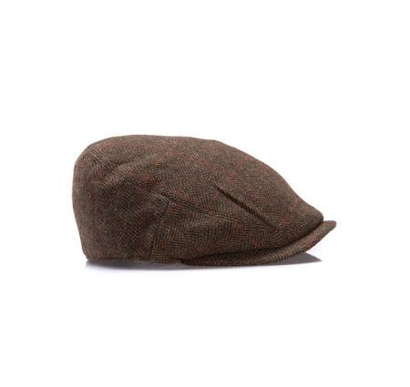 Save Barbour Gamefair Waterproof Flat Cap in medium olive 68e047ed26f