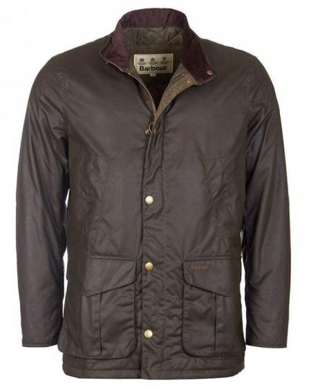 Barbour Hereford Wax Jacket in olive MWX1213
