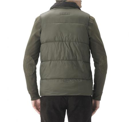 Barbour Hermitage Body Warmer in olive green MQU0488OL51