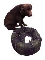 Barbour 20 inch Small Donut Dog Bed DAC0040TN11