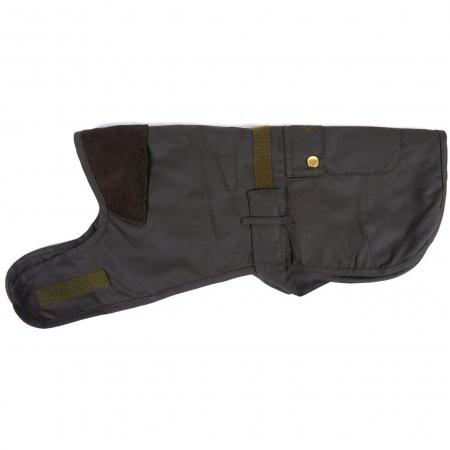Barbour 2 in 1 Waxed Cotton Dog Coat DCO0018OL71