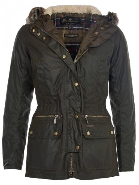 Barbour Kelsall Wax Parka for ladies LWX0303