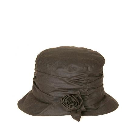 Barbour Kirstie Waxed Cotton Hat for ladies LHA0309
