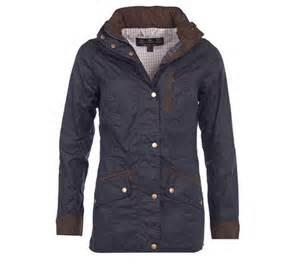 Barbour Ladies Badminton Wax Jacket in Navy LWX0537NY92