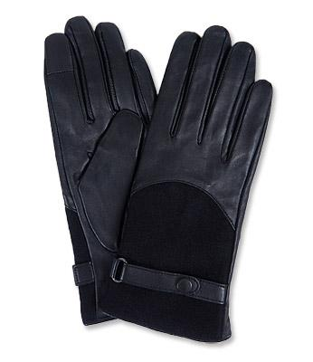 Barbour Ladies Blair Glove in black LGL0080
