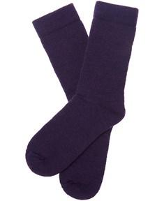 Barbour Ladies Boot Sock in huckleberry purple