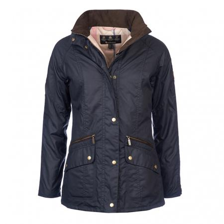 Barbour Ladies Crossrail Wax Jacket LWX0660NY92
