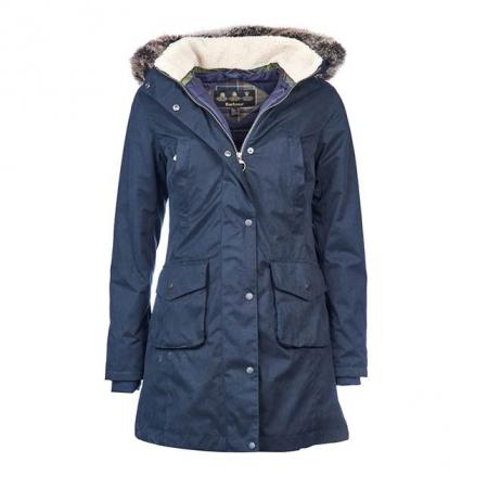 Barbour Ladies Haslingden Jacket Navy LWB0388NY71