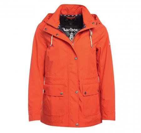 Barbour Ladies Hawkins Waterproof Jacket LWB0454