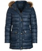 Barbour Ladies Redpoll quilted coat in navy