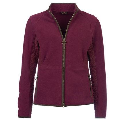 Barbour Ladies Triplebar Fleece in Merlot or Navy LML0026PU26