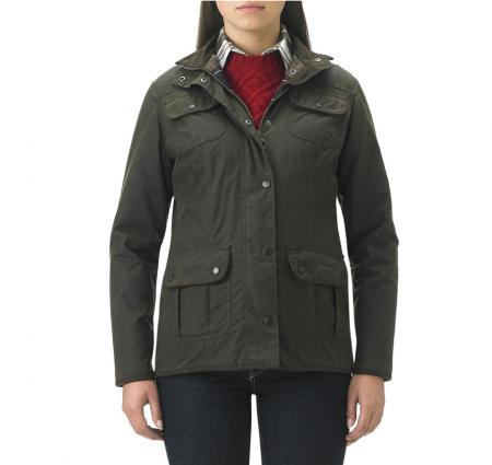 Barbour Ladies Utility Jacket olive