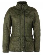 Barbour Ladies Utility Polarquilt Jacket olive