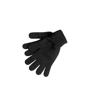 Barbour Lambswool Gloves in black