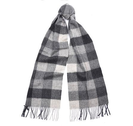 Barbour Large Tattersall Lambswool Scarf USC0005